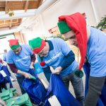 On Hasbro Global Day of Joy more than 5,000 Hasbro employees around the world (237 service projects across 40+ countries) volunteered and engaged in community service projects to bring joy to families in need during the holidays.