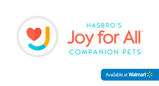 This holiday season give aging loved ones the gift of joy and companionship with Hasbro's Joy for All Companion Pets. Joy For All Companion Pet cats look, feel, and sound like real cats, providing realistic pet companionship to seniors.