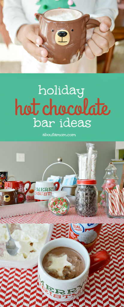 Hot Chocolate Bar and Christmas Dessert Party Ideas