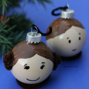 Leia and Hans Solo ornament for the Star Wars geek in you.