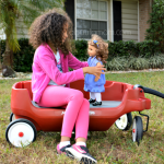 Radio Flyer Deluxe Grandstand Wagon 3-in-1 and 25 Days of Holiday Giveaways