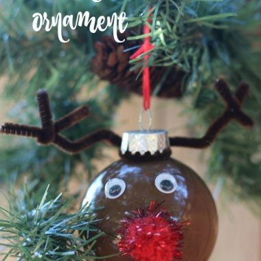 DIY Reindeer Ornament: Personalize Your Tree