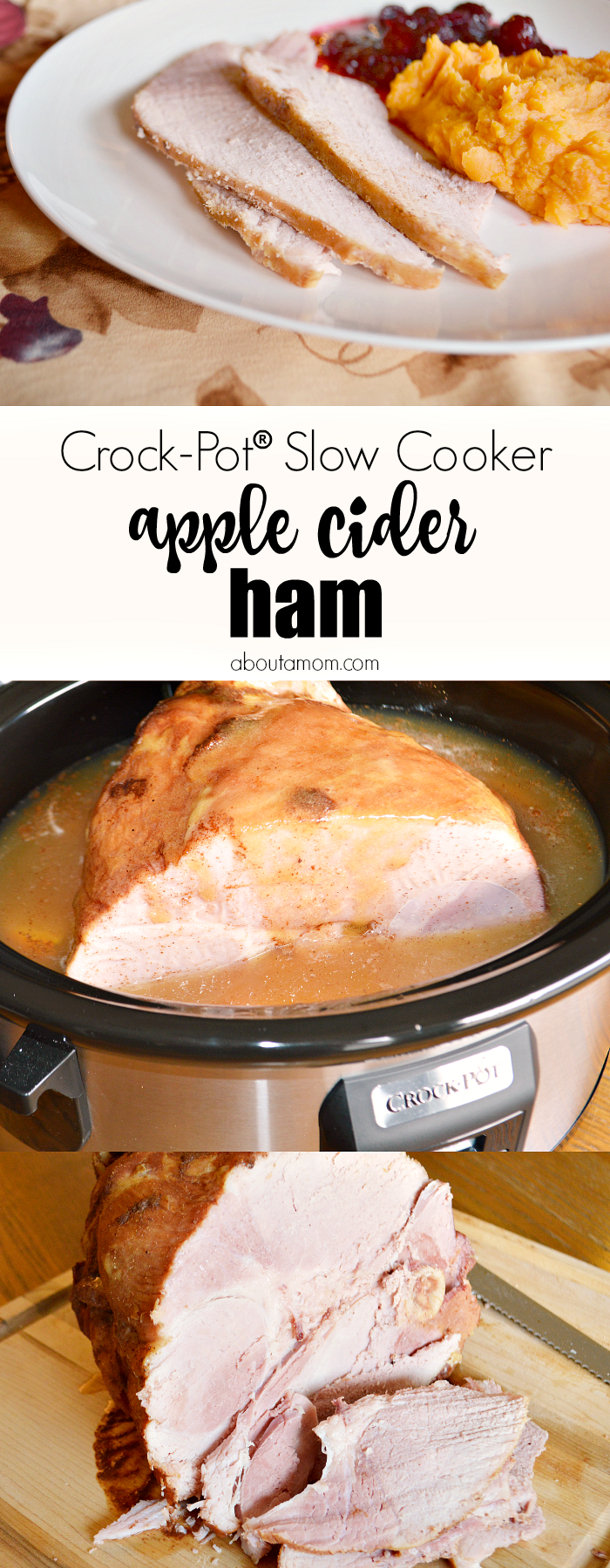 how to cook a ham in a crock pot