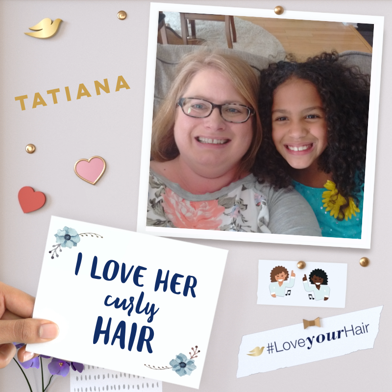 The pressure to look a certain way comes at an early age. Join the Dove #LoveYourHair campaign and inspire your daughter to love her hair.