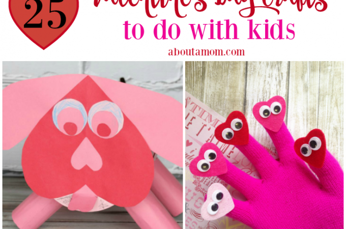 Valentine's Day, the sweetest time of the year, is just around the corner. I've gathered up some fun Valentine's Day crafts for kids to share with you. I can't think of a sweeter way to enjoy this holiday than having some fun with your kids making some of these Valentine's Day crafts.