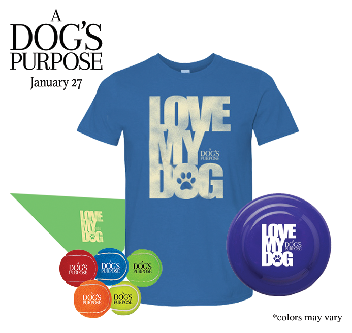 A Dog's Purpose Prize Package