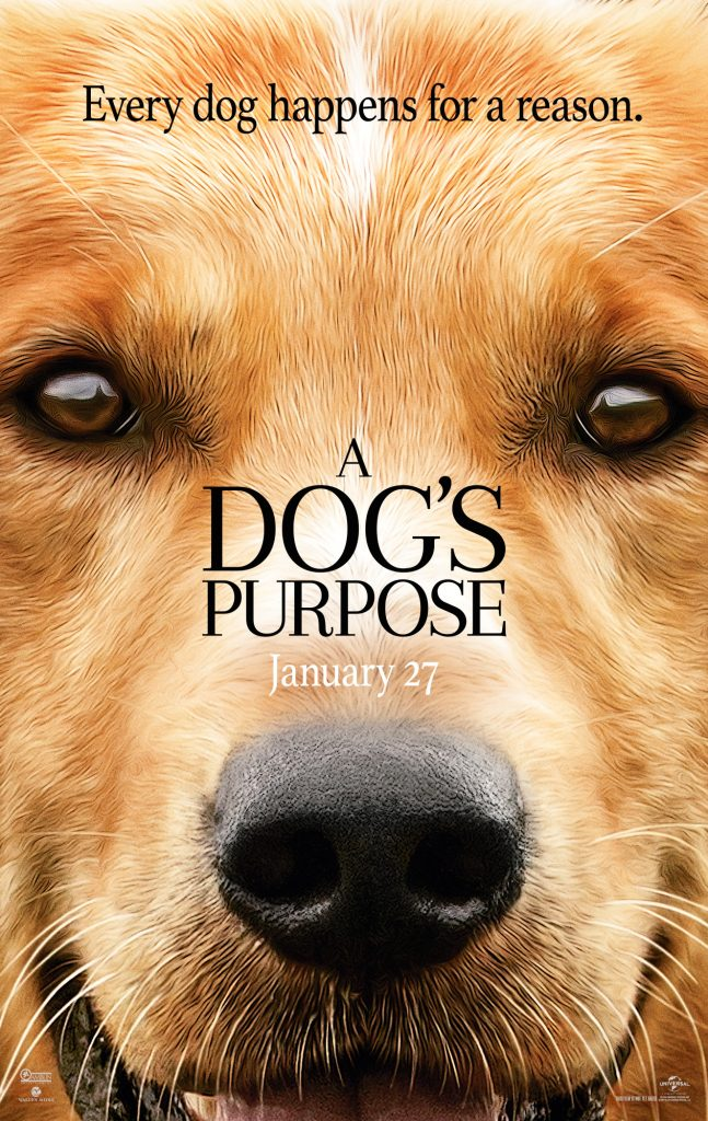 Every dog has a purpose. See A Dog's Purpose in theaters everywhere on January 27, 2017. Starring Britt Robertson, KJ Apa, John Ortiz, with Dennis Quaid and Josh Gad.