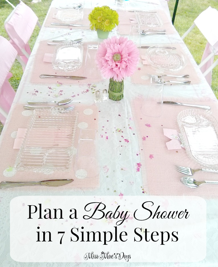 how to plan a baby shower in 7 simple steps about a mom