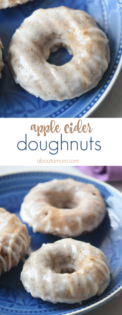 A recipe for delicious cinnamon dusted apple cider doughnuts with a sugar glaze.