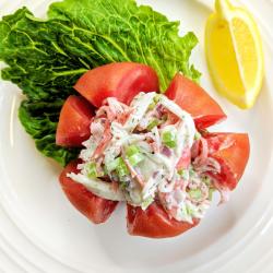 The Best Imitation Crab Seafood Salad Recipe