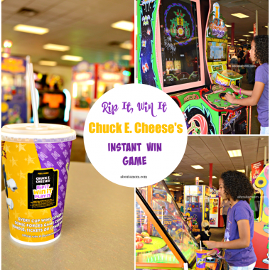 Now through March 11, Chuck E. Cheese's is once again hosting its Rip It, Win it instant win game and everyone's a winner! Chuck E. Cheese's Rip It Win It Instant Win Game is just one more reason to head over to Chuck E. Cheese's for some family fun.