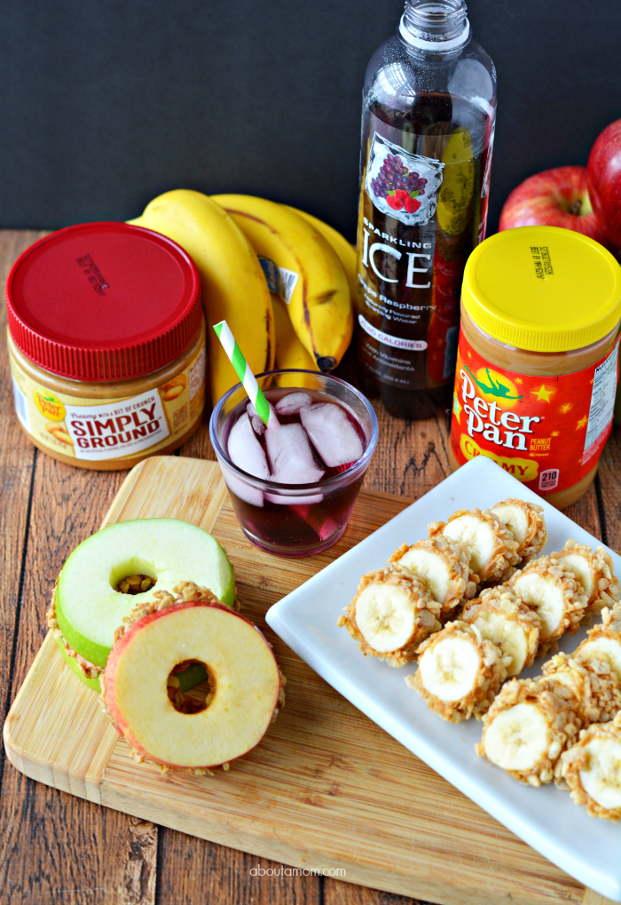 Creative and fun after school snack ideas like banana sushi and apple sandwiches will help your kids power through homework time.