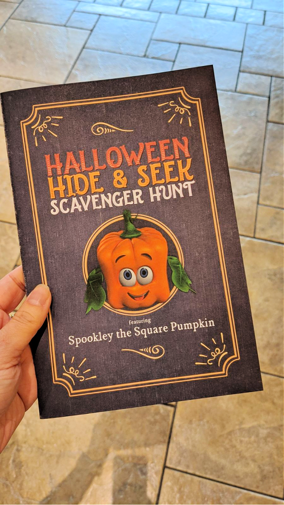 Spookley the Square Pumpkin Scavenger Hunt
