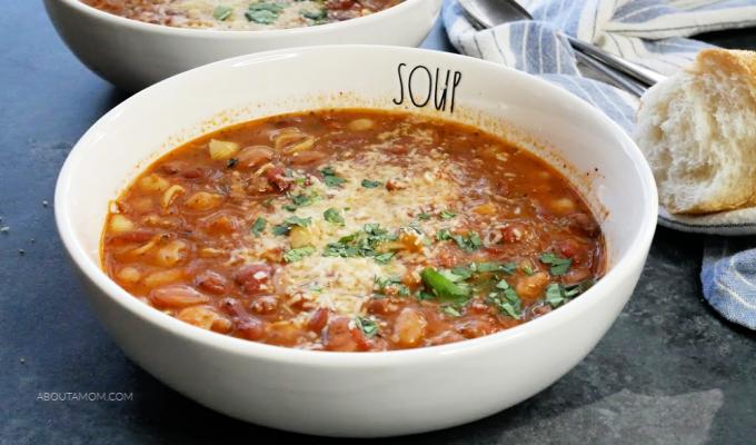Italian Bean Soup with Sausage Recipe