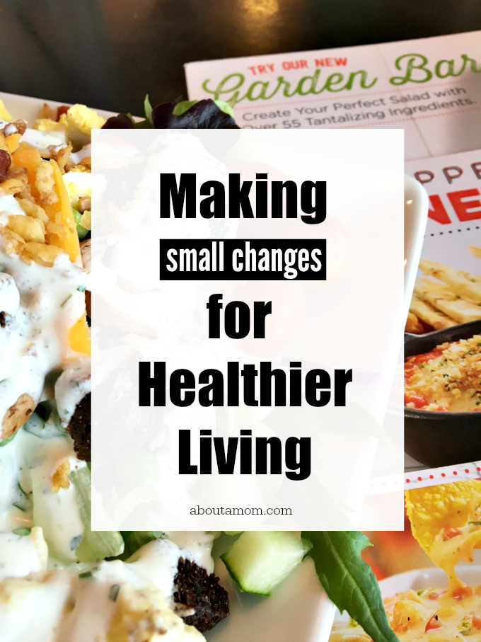 A healthier you doesn't have to mean a complete lifestyle makeover. In fact, seldom do extreme lifestyle changes have a lasting effect. Instead, try making small changes for healthier living.