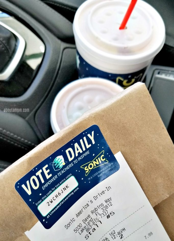I'm so excited to partner with SONIC again this year to help promote this 11th annual SONIC Fall Voting campaign. It's that time of year again! Through Oct. 27, you can help give $1M to teachers through SONIC's annual Fall Voting campaign. Help public school teachers by voting for projects that inspire you.