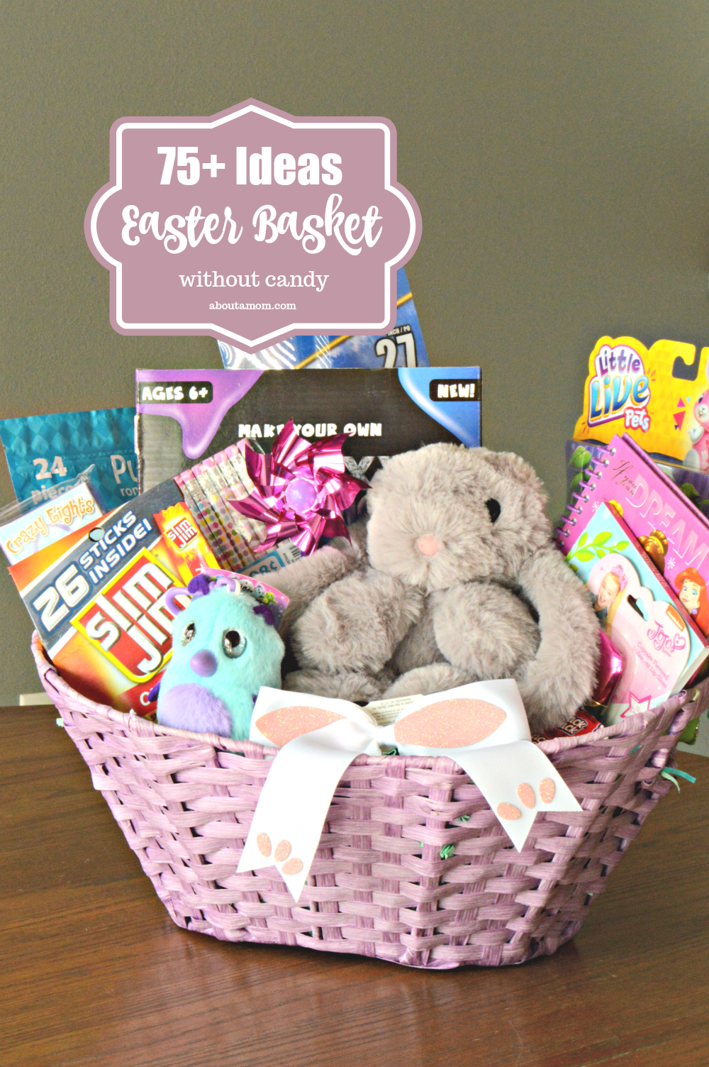 75 fun easter basket ideas about a mom are you trying to avoid sugar crazed children this easter heres a list of negle Image collections