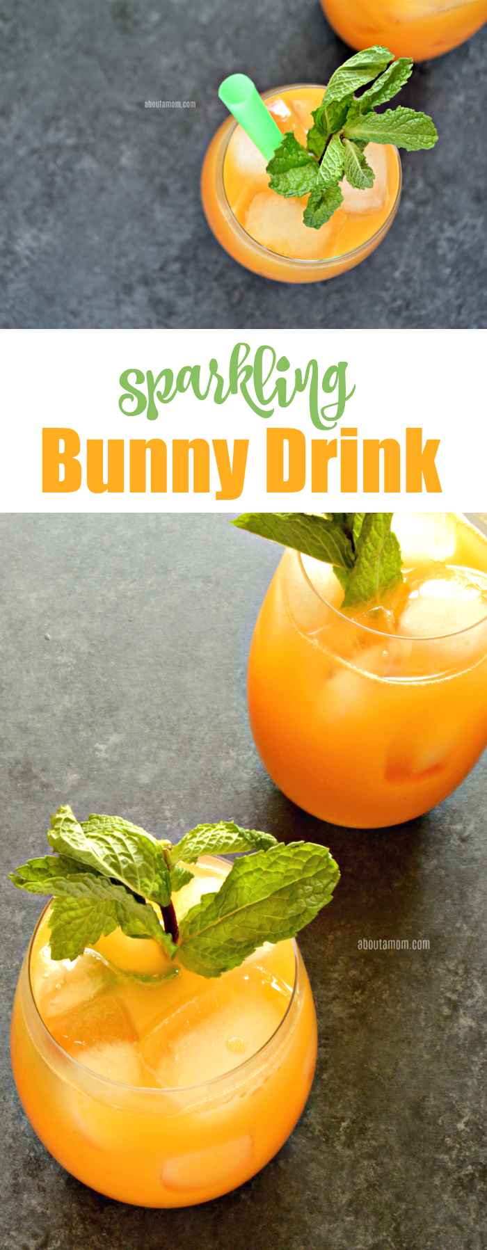 Whether you are preparing Easter Dinner or Easter Brunch, a signature drink is a must. This delicious sparkling bunny Easter drink recipe is simple to make and something the whole family will enjoy.