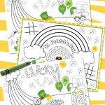 Are you looking for some fun St. Patrick's Day ideas for the kids? This free St Patrick's Day Printable Activity Pack is an easy, fun way to keep kids of all ages entertained during St. Patrick's Day classroom parties, family dinners, and neighborhood parties.