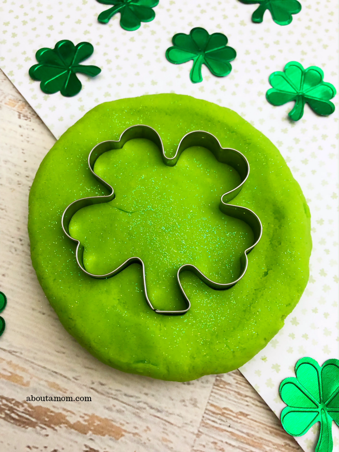Homemade Playdough For St Patrick S Day About A Mom