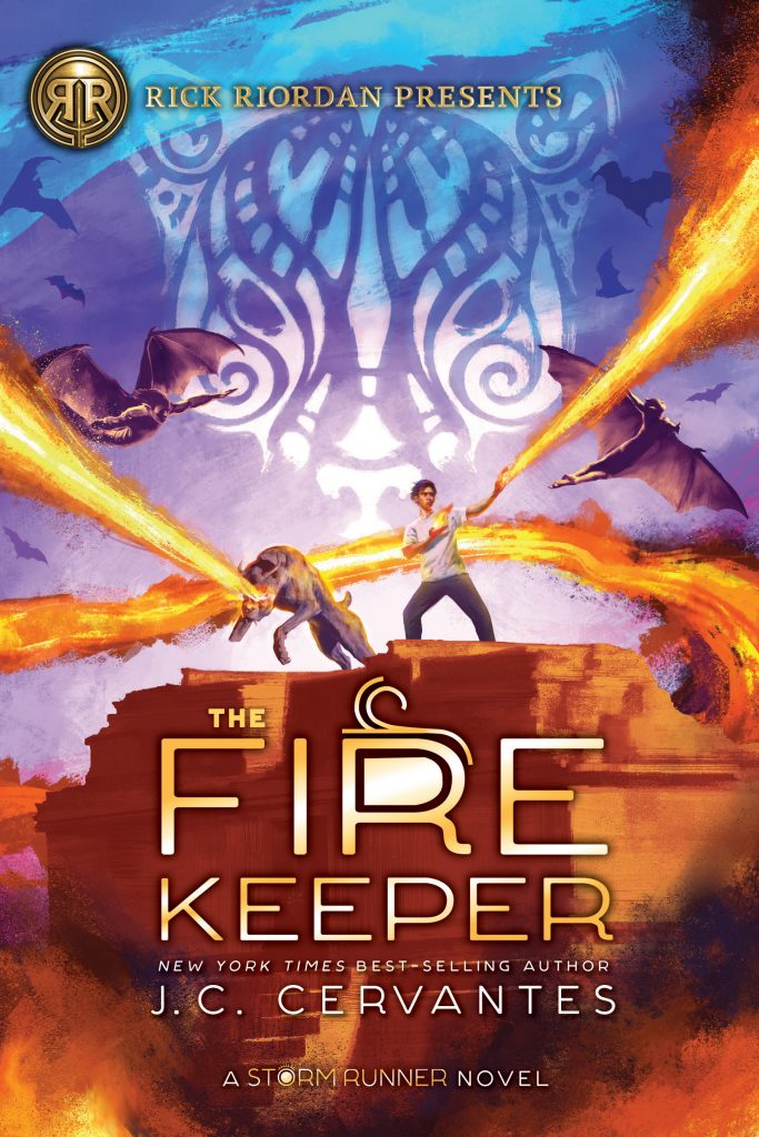 It is time to celebrate the release of The Fire Keeper (The Storm Runner #2) By J.C. Cervantes. Gather your middle-grade readers and get ready for a brand new quest featuring incredible twists and turns. The fiery and fast-paced sequel to the New York Times bestselling and critically acclaimed The Storm Runner is in stores today!