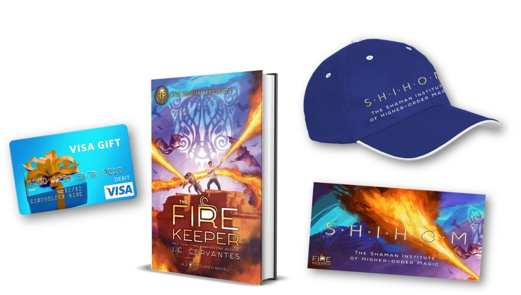 The Fire Keeper Giveaway