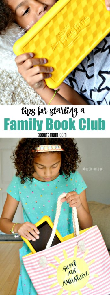 Need a family activity for spring or summer break? Use these tips for starting a family book club. It's a fun way to prevent learning loss during extended school breaks.