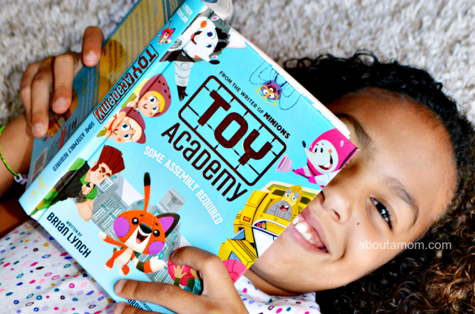 Toy Academy: Some Assembly Required is a laugh-out-loud book that is perfect for readers ages 7 - 10. Written byBrian Lynch, the writer of the movies Minions and The Secret Life of Pets, with illustrations by Edwardian Taylor. This fun-filled adventure is sure to make your child giggle.