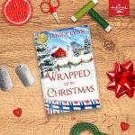 """Wrapped Up in Christmas"" out October 1st from Hallmark Publishing!"