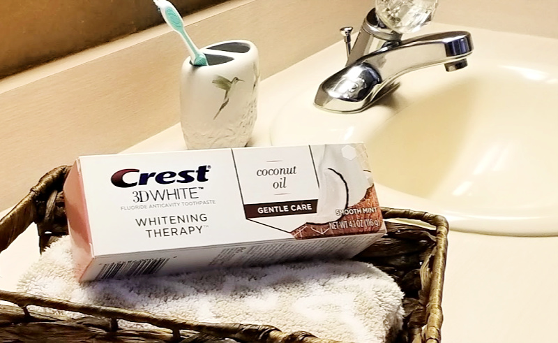 Have you been at all curious about brushing with charcoal toothpaste? Whether you're relatively new to brushing with charcoal or haven't yet tried this trend, Crest has a brand new Crest 3D White Whitening Therapy with Charcoal paste that you simply have to try!