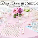 Plan a Baby Shower in 7 Simple Steps with FREE Resource Pack Planning Printables