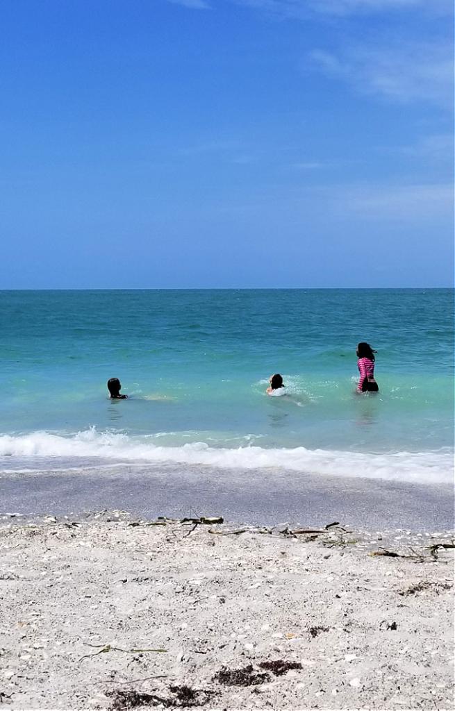 enjoying Florida beaches