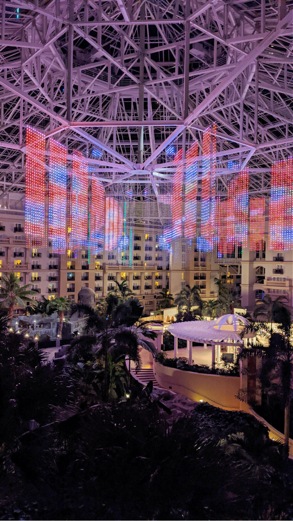Phantom of the Atrium Light Display