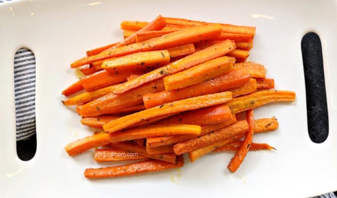 Best Roasted Honey Glazed Carrots Recipe