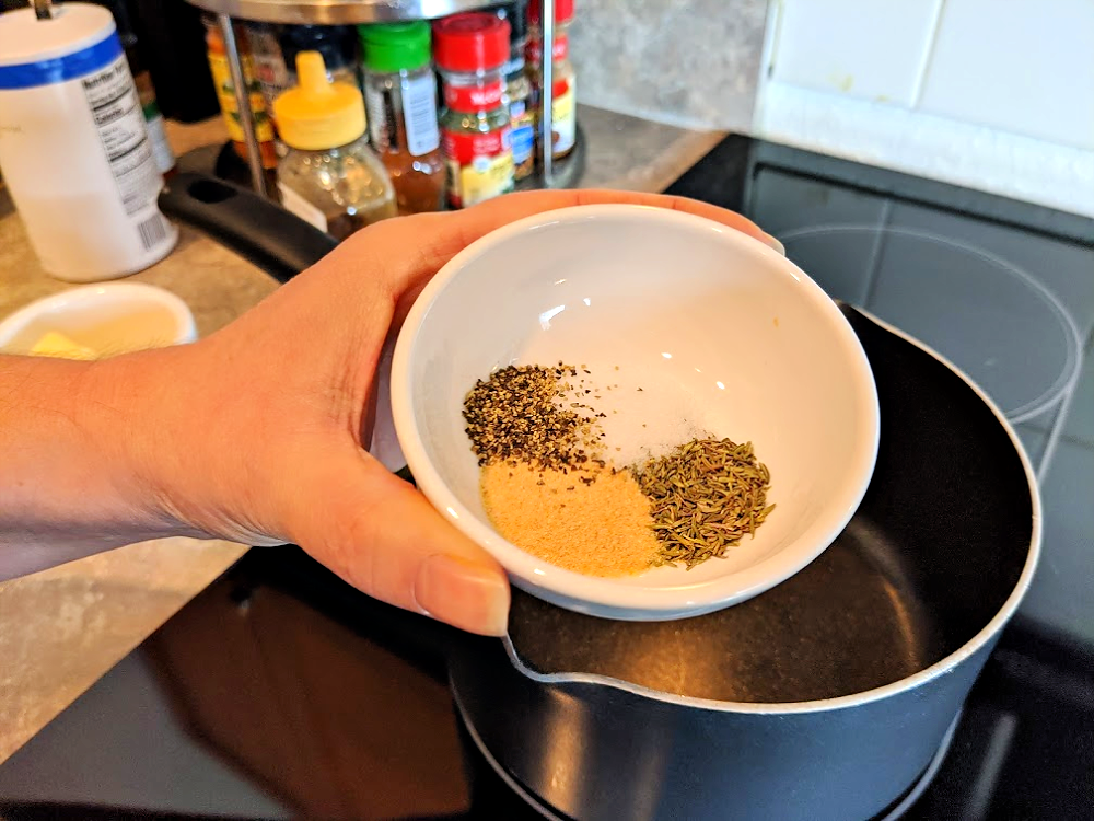 seasoning blend for carrots