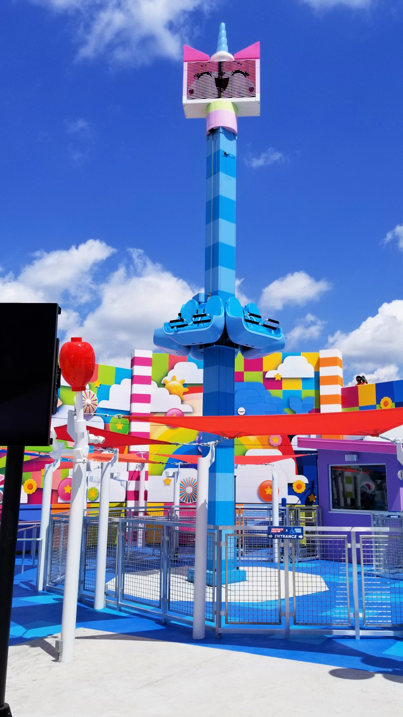 THE LEGO MOVIE WORLD at LEGOLAND Florida Resort is now open. The new land, inspired by the worldwide blockbuster THE LEGO MOVIE and its sequel, features three rides, various attractions, character sightings and new dining experiences for guests.