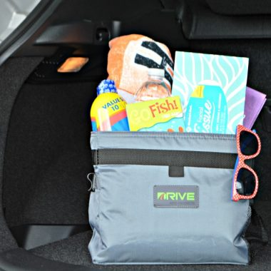 Be prepared for summer fun with an on-the-go summer car kit. Have on hand the things you need for an impromptu day at the beach or park.