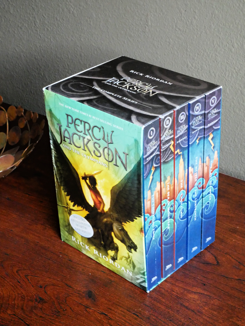 Avoid summer reading loss. Jump start summer reading with the best-selling middle-grade series Percy Jackson & the Olympians by Rick Riordan.