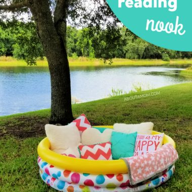 DIY Outdoor Reading Nook