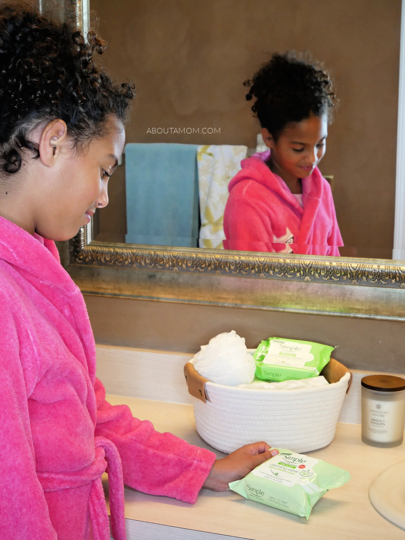 The basic routines of life are some of the most important things we can teach our children. How to take care of themselves in the day to day, and how to live a healthy lifestyle. Particularly for the tween and teen years, teaching daughters a good simple skin care routine that they'll stick with is something you don't want to miss.