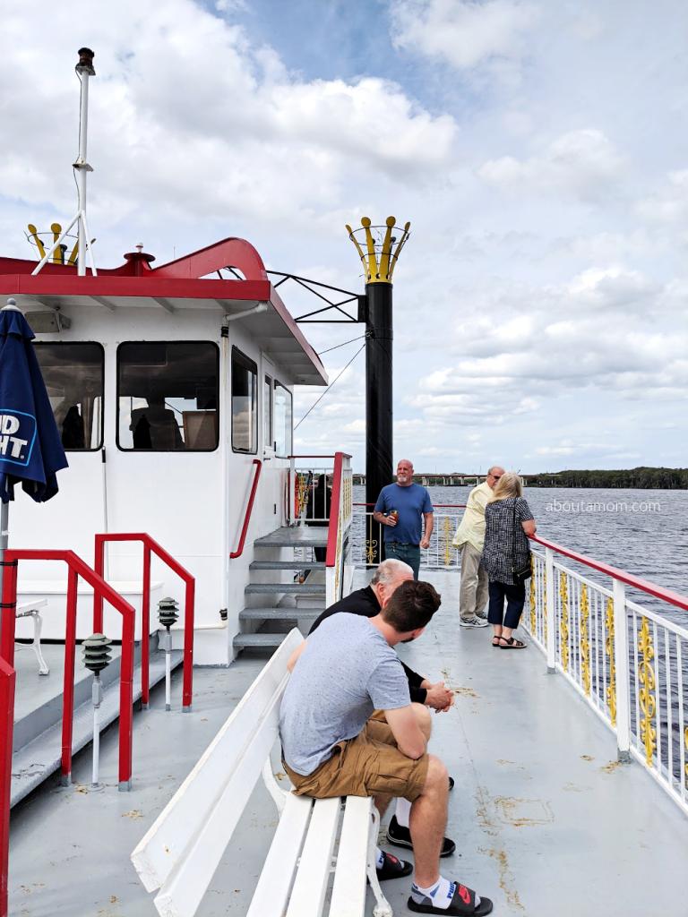 captains deck of rivership
