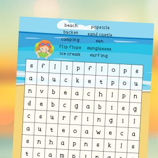 This Summer Word Search For Kids Printable is a great way to give kids something fun to do while helping reduce summer slide. Download and print this free summer boredom buster.