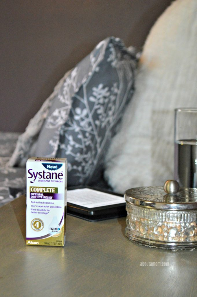 Dry eye is a condition affects over 30 million people living in the US, and can often get in the way of everyday life. Alcon's new eye drop SYSTANE® Complete is the newest product from the #1 doctor recommended brand of eye drops. Its advanced nano-droplet technology allows for fast-acting hydration, tear evaporation protection and long-lasting relief.