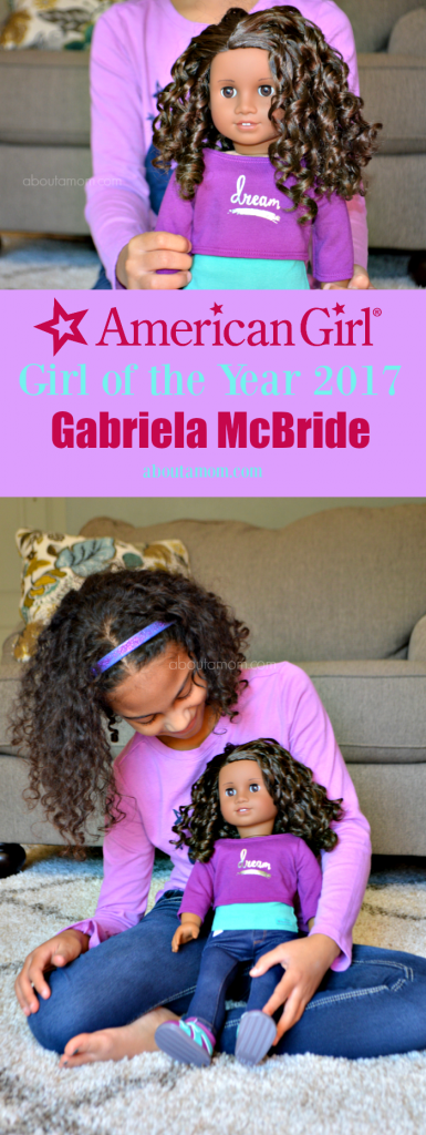 Meet American Girl 2017 Girl of the Year (GOTY) Gabriela McBride. She is a quiet and creative girl who has learned to use her creativity to overcome obstacles in her life.