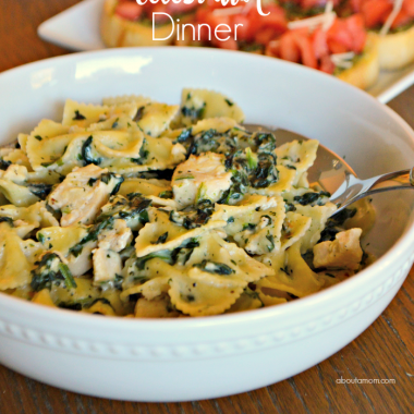 Celebrate the everyday with this easy weeknight celebration dinner that comes together in under 15 minutes. Perfect for a busy weeknight.