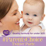 RSVP for #ParentsChoice Twitter Party on Wednesday, 2/22 at 1:00PM EST