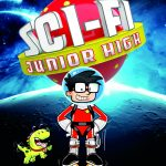 Go on a Gleeful Space Adventure with Children's Book Sci-Fi Junior High + Giveaway