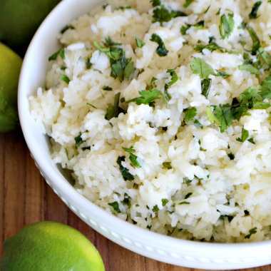 This easy-to-make and delicious Cilantro Lime Rice recipe is incredibly flavorful, and pairs perfectly with your favorite Mexicanfoods or as a filler for burritos.