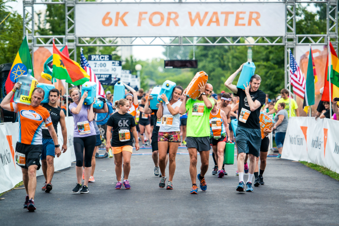 Sign up and participate in the Team World Vision Global 6K for Water and help provide clean and safe water to people around the world.