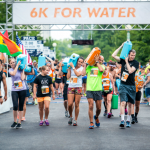 The Global 6K for Water is an event organized by Team World Vision, which is a passionate group of people who run, walk, and race to help children get access to clean water.